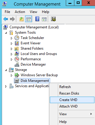 System Image Backup using Windows Server Backup (2012/2012 R2) to