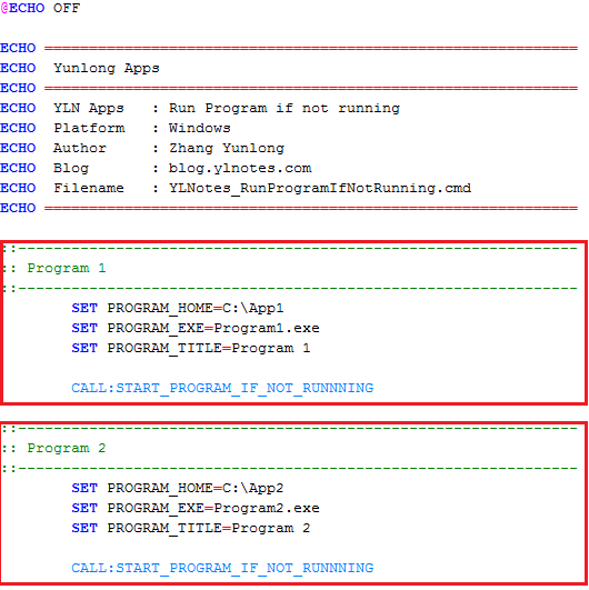 YLNotes_RunProgramIfNotRunning